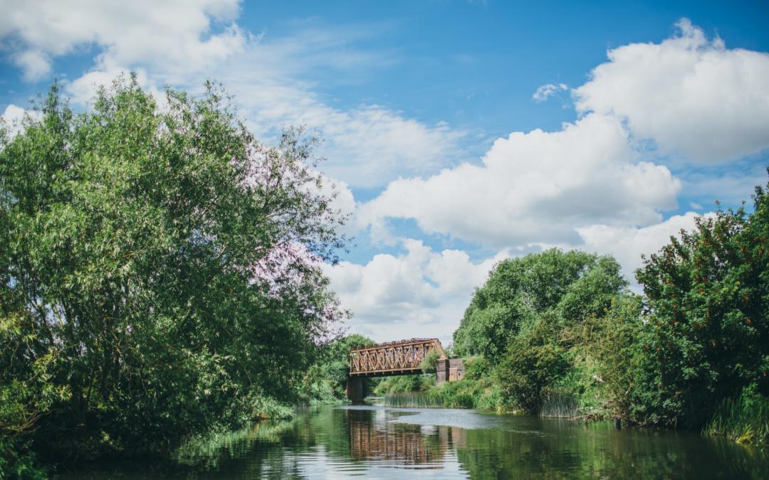 Barging through Warwickshire