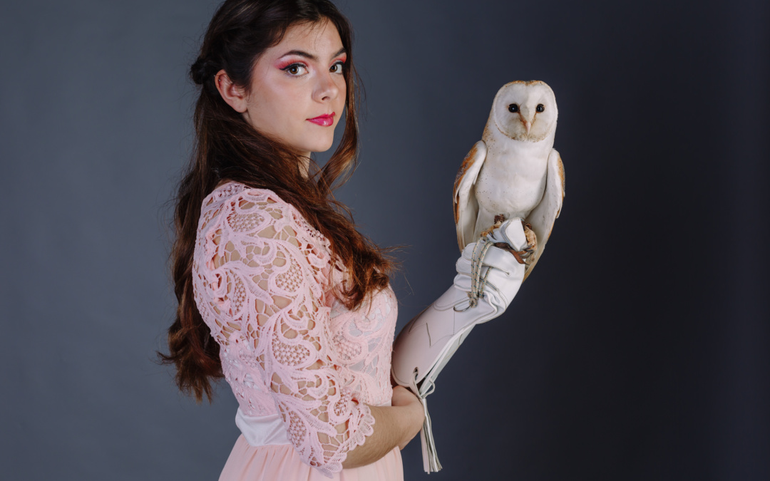 Girl + Owl Photo Shoot