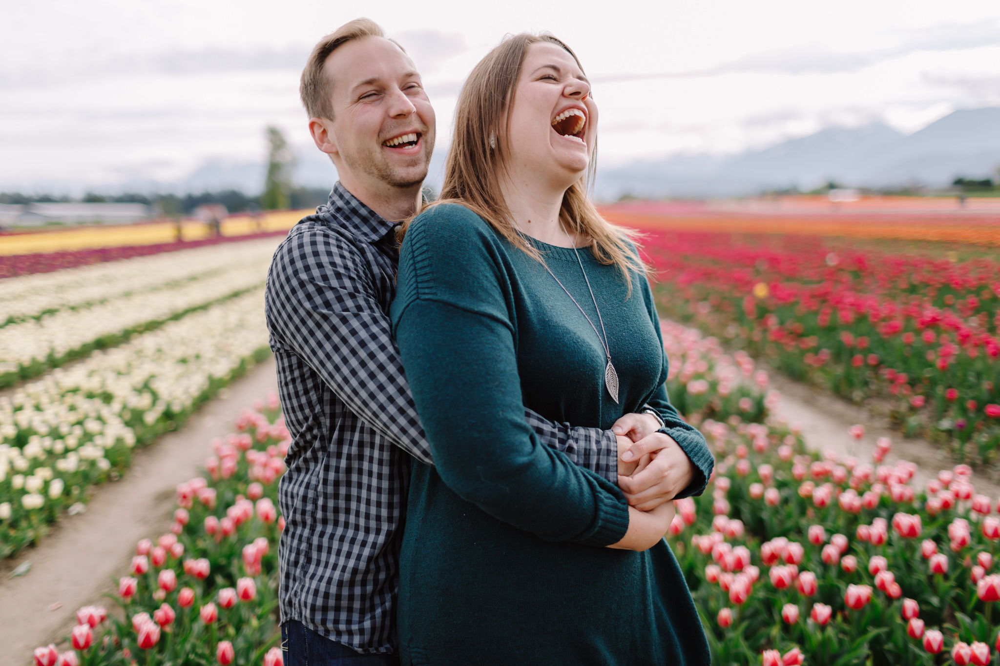 Chilliwack Tulip Festival couple shoot