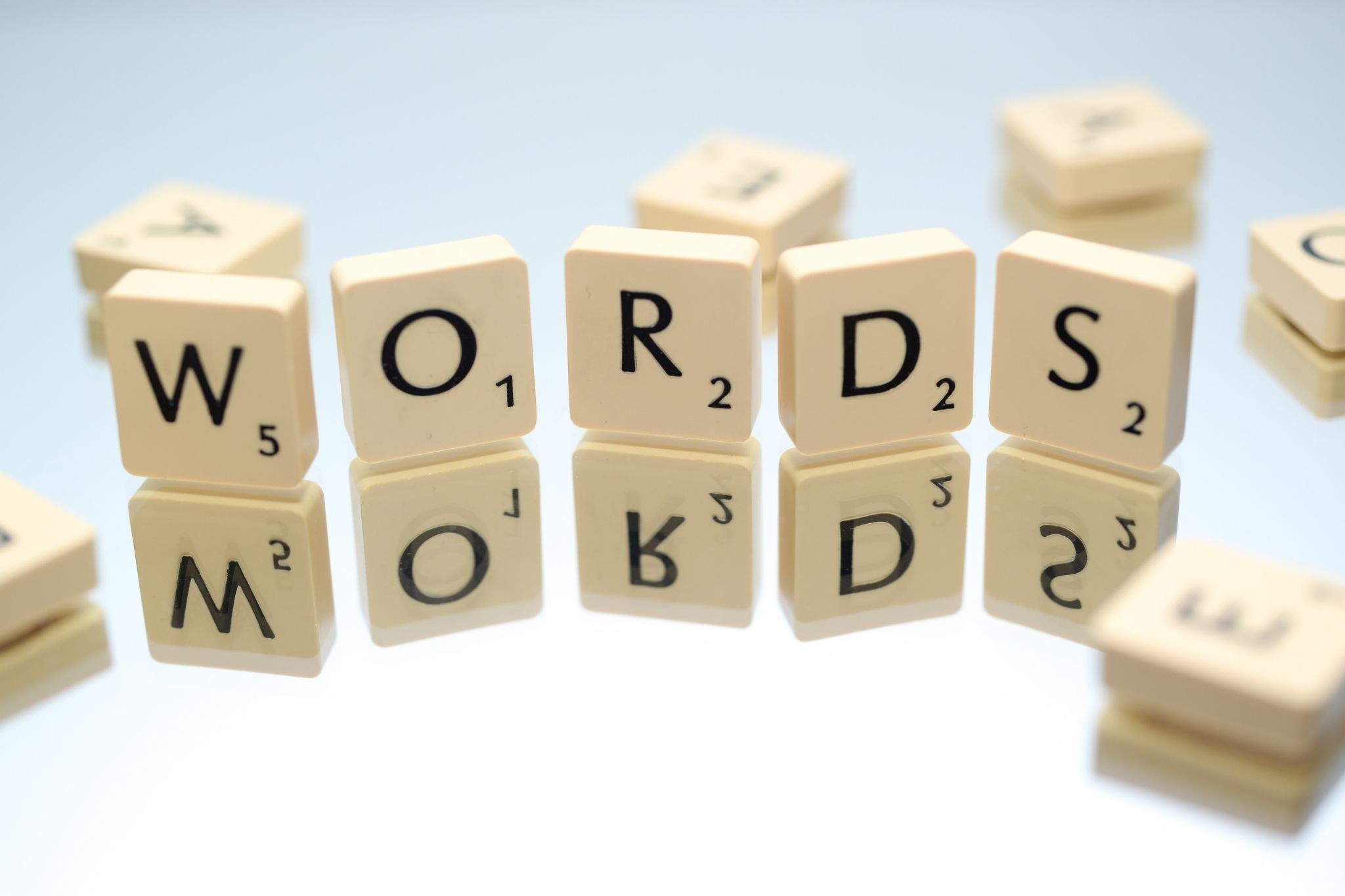 words and images in blog posts